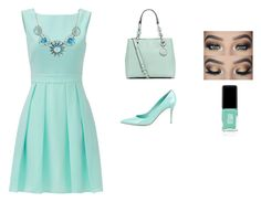"""""""Blue fashion"""" by info-klompa ❤ liked on Polyvore featuring Kate Spade, Michael Kors, Gianvito Rossi, Jin Soon, fashionista, fashionable, fashiontrend and fashionset"""