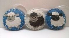 Felt Christmas Sheep ornament Sheep Christmas by DusiCrafts