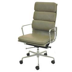 Chandel PU High Back Office Chair, Vintage Smoke/6900003-VS