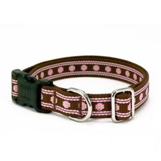 Oslo Dog Collar $13, Made from 100% certified recycled plastics and is 100% petroleum free. The high quality buckle is also made of 100% recycled post-consumer plastics and is ergonomic and contoured to fit comfortably on your pet.