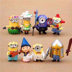8pcs Fairy Minion Action Figure //Price: $27.95 & FREE Shipping // Minion Stuff, Gift Store, Minions, Action Figures, Fairy, Free Shipping, Gifts, Fictional Characters, Presents