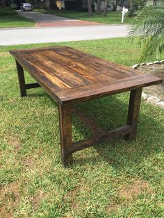 7ft Fancy Farmhouse Table By DanowitDesigns On Etsy | D I N I N G |  Pinterest | Farmhouse Table, Dining Room Table And Room