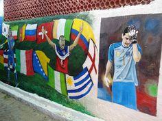 John Brooks celebrates. Iker Casillas hangs his head, as champions Spain bow out.