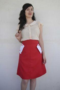 """Αχ, αυτή η φούστα! Είναι αυτό που λέμε """"καλή ιδέα, κακή εκτέλεση"""". Άσ' τα αγαπημένη/ε μου. Θα στα πω με τη σειρά και θα με νιώσεις. Ήθελα που λες, να φτιάξω κι εγώ μια φουστίτσα γ… Sewing Patterns Free, Free Sewing, Waist Skirt, High Waisted Skirt, Skirts, Inspiration, Tutorials, Posts, Blog"""