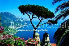 10 Things To Do On The Amalfi Coast   Enjoy A Glass Of Wine At Il San Pietro di Positano  Visit The Grotto Dello Smeraldo, Positano.  Visit Salerno