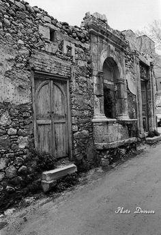 Heraklion town around Crete island, Greece Crete Island, Heraklion, Simple Photo, Old Maps, Old City, Vintage Photos, Greece, Architecture, The Past
