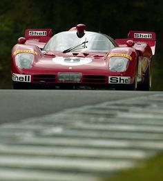 Ferrari 512 looking amazing from the front.