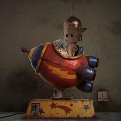 To Boldly Go, Jose Miguel Florez Victoria on ArtStation at https://www.artstation.com/artwork/a1NVL