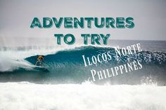Get your adventure on when you visit the beautiful Ilocos Norte on your next visit to the Philippines. Sandboarding, hiking and surfing to get you started. Ilocos Norte Philippines, Philippines Palawan, Philippines Travel Guide, Coron Island, Siargao Island, Tourist Spots, Ultimate Travel, Photo Location, Where To Go