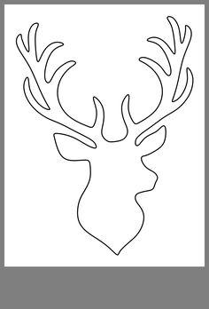 Deer Stencil, Stencil Art, String Art Templates, Stencil Templates, Christmas Tree Painting, Christmas Canvas, Christmas Lodge, Christmas Crafts, Diy Lace Doily Bowl