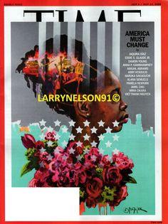 TIME MAGAZINE JULY 6 13 2020 AMERICA MUST CHANGE JAMIL MINA ABIGAIL ALANA EDDIE Time Magazine, Cover Art, Magazines, Change, America, Journals, Magazine, Usa, Cover Design