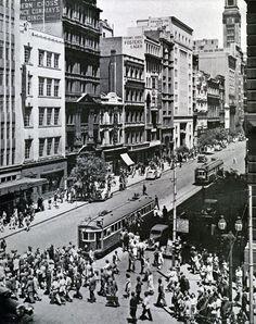 Corner Swanston & Collins Streets, Melbourne