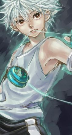 Hunter X Hunter killua fan art
