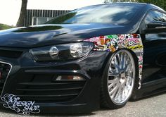 Sticker Bomb Folie Style - Car Wrapping Stickerbomb Tuning