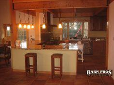 Interior of The Rainier. Learn more at BarnPros.com.