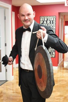 Halloween Party 2012: ITA Advisor, Tim, as the Gong show!