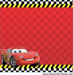 Fazendo Festa Kit Infantil Cars Themed BirthdayDisney