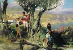 Veja obras do talentoso pintor polonês Henryk Siemiradzki | #Artistas, #HenrykSiemiradzki, #Jmj, #Pintores, #SiemiradzkiHenryk