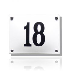 HG-07/WI-ZW emaille huisnummer Flip Clock, Home Decor, Enamel, Decoration Home, Room Decor, Home Interior Design, Home Decoration, Interior Design