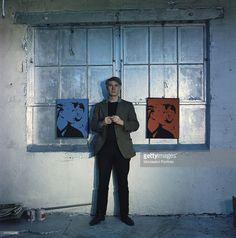 Andy Warhol Silver Factory Art Studio Artist Pop Art #AndyWarhol