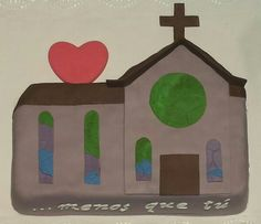 Te suena este dibujo? Tarta en forma del emoticono de la Iglesia, para pedirle matrimonio a su chica!