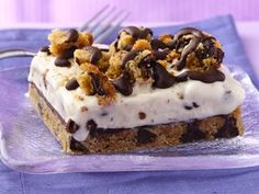 Chocolate Chip-Ice Cream Dessert recipe from Betty Crocker