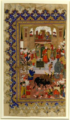 Image gallery: painting / miniature / album. Culture/period      Ottoman dynasty term details  Date      1600 (circa)
