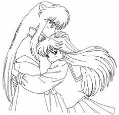 chibi inuyasha coloring pages - photo#16