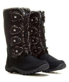 5e7405a0014 black boots for winter Botas De Clima Frío
