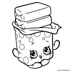 Print Bobby Bubble Gum Shopkins Season 6 Coloring Pages