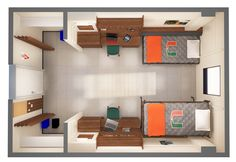 Pictures of dorm room layouts room layout college life