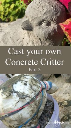Cast Your Own Concrete Feature Madebybarb