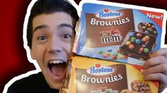 Hostess ® M&M, Milky Way And Rainbow Chip Brownie! (What's The Best Snac...