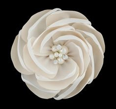 Just Arrived :: New Stunning Flower Pearl Clip - Princess Boutique - Flower girl, Page Boy, Communion & Special Occasion Wear
