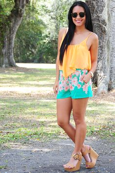 Free Flowing Crop Top: Orange - Use the promo code HOLLIREP to get 10% off of every order plus get FREE SHIPPING with no minimum purchase!