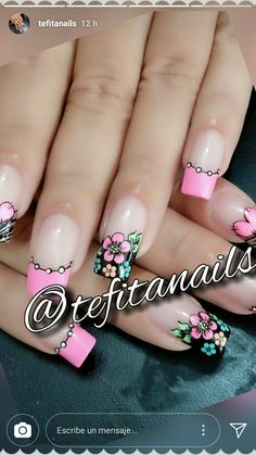 Uñitas nail designs for fall nail designs for short nails step by step full nail stickers nail art stickers walmart best nail polish strips 2019 Elegant Nail Designs, Short Nail Designs, Gel Nail Designs, Cute Nails, Pretty Nails, Hair And Nails, My Nails, Nails Polish, Fabulous Nails
