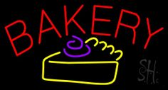 Bakery Logo Neon Sign 20 Tall x 37 Wide x 3 Deep, is 100% Handcrafted with Real Glass Tube Neon Sign. !!! Made in USA !!!  Colors on the sign are Red, Purple and Yellow. Bakery Logo Neon Sign is high impact, eye catching, real glass tube neon sign. This characteristic glow can attract customers like nothing else, virtually burning your identity into the minds of potential and future customers. Bakery Logo Neon Sign can be left on 24 hours a day, seven days a week, 365 days a year...