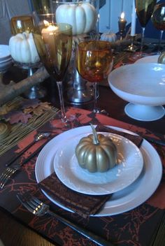 ::: FOCAL POINT :::: THANKSGIVING TABLE THOUGHT STARTERS
