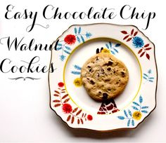 Easy Chocolate Chip Walnut Cookies are a classic favorite.