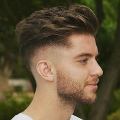 High Skin Fade and Drop Down with Long Textured Hair