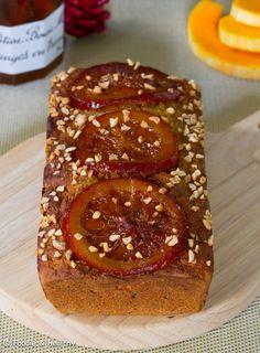 Cake aux épices, Courge & Orange