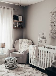 How to Create a Neutral Style Nursery with Buy Buy Baby – Baby nursery - Baby Room Baby Room Design, Nursery Design, Baby Nursery Decor, Baby Decor, Girl Nursery, Themed Nursery, Project Nursery, Babies Nursery, Boho Nursery