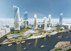 Tongzhou Central Business District by UNStudio  #Architecture - ☮k☮