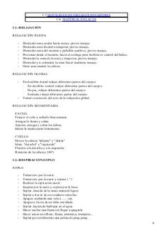 Programa general de intervención logopédica
