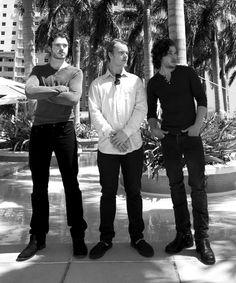 Richard Madden, Alfie Allen, Kit Harrington. Game of Thrones boys. Can I take alfies place?