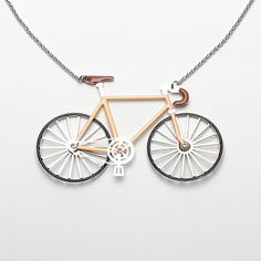 if only i could wear this bicycle around my neck!