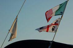 Banderas de #CerdeñaEnVelero