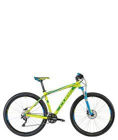 Mountainbike Hardtail Attenion 29 / green blue by Cube