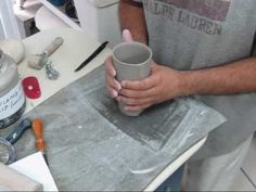 This is a video showing how I make my handbuilt tumblers. Check out finished pieces at http://creativewithclay.etsy.com