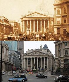 London in 1897 and Now. Changed a bit. Been here once.
